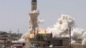 انفجار مسجد عمر بن خطاب