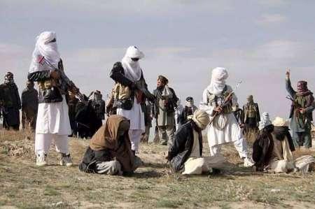 اطالبان، ۱۱ مامور دولتی افغانستان را گلوله باران کردند