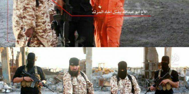 برادر کشی توسط تروریست داعشی+عکس
