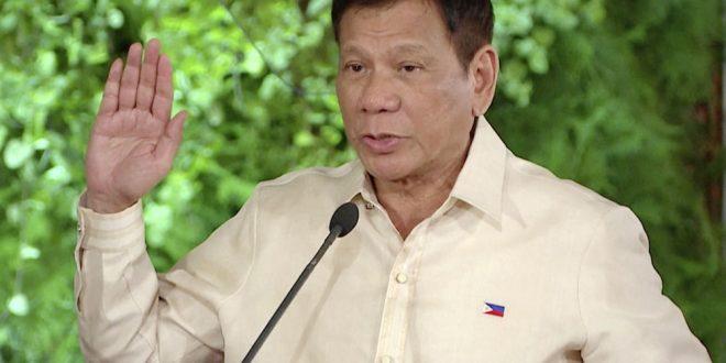 رئیس جمهوری فیلیپن مدعی شد خداوند به او هشدار داده است که فحاشی و ناسزا گفتن را ترک کند.