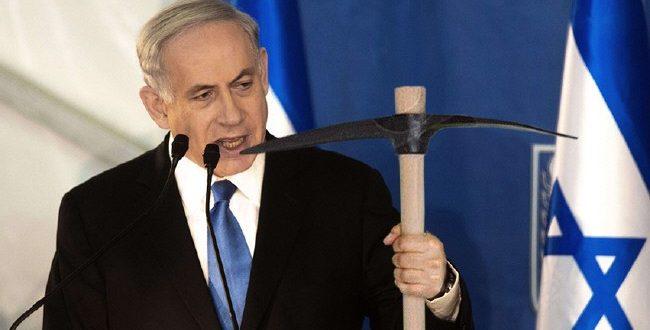 نتانیاهو شخصا برای تخریب مسجد الاقصی کلنگ میزند
