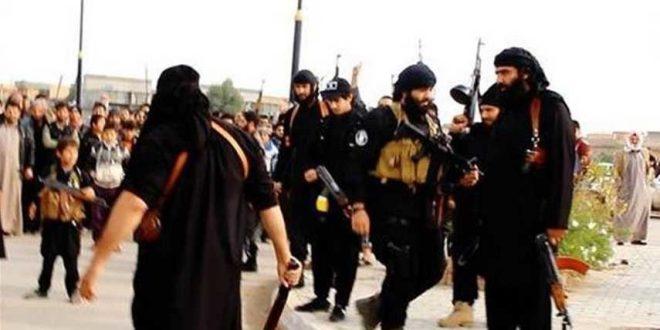 اعدام تعدادی از شهروندان موصل توسط داعش
